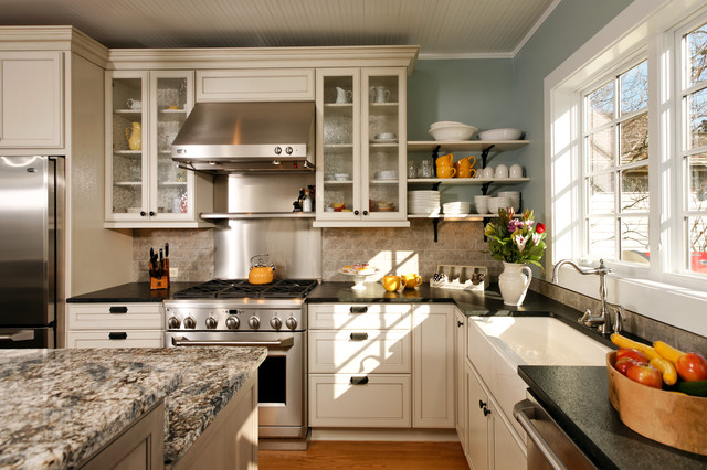 Modern Country Kitchen Traditional Kitchen Dc Metro on Rustic Kitchen