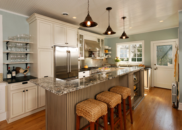 "Modern Traditional Kitchens modern"" country kitchen - traditional - kitchen - dc metro -"