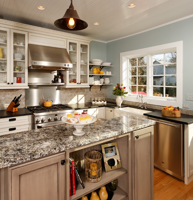 "Modern"" Country Kitchen - Traditional - Kitchen - dc metro - by Harry ..."