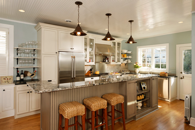 Modern Country Kitchen Design Ideas And Decorating