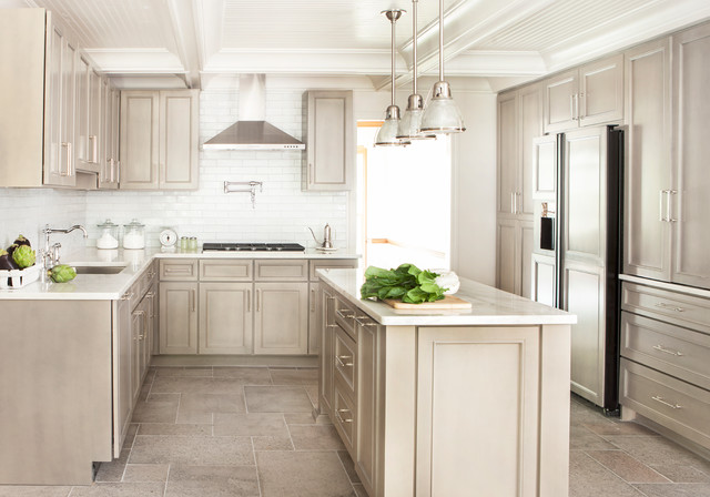 Modern Country Kitchen - Transitional - Kitchen - Atlanta ...