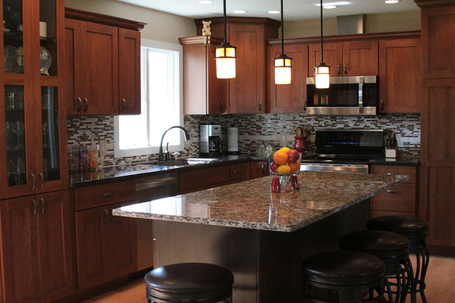 Modern Country Kitchen Remodel traditional-kitchen