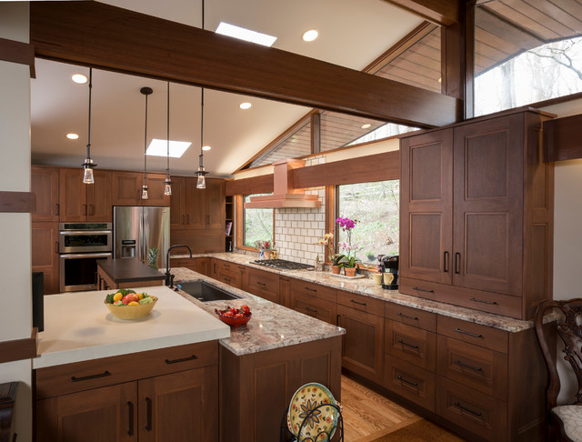 Modern Craftsman Kitchen Other Metro By