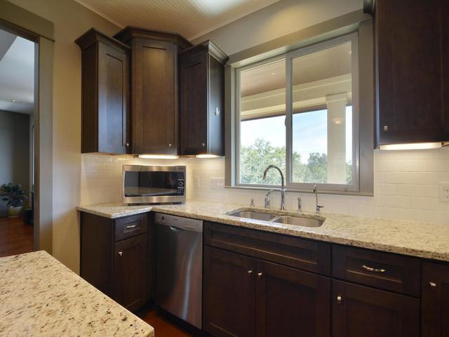 Modern Craftsman Green Home craftsman-kitchen