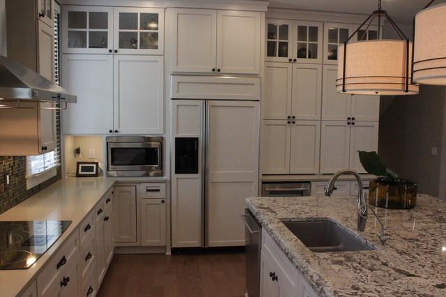 Modern Craftsman Transitional Kitchen Indianapolis By Misch Bobrick Design Llc