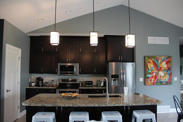 Modern Craftsman Style Home craftsman-kitchen