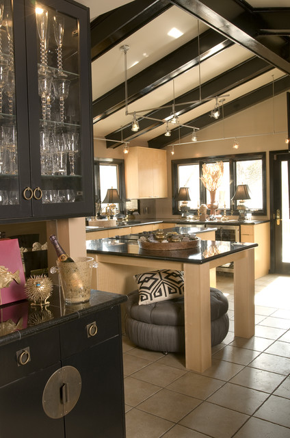 Modern Deco eclectic-kitchen