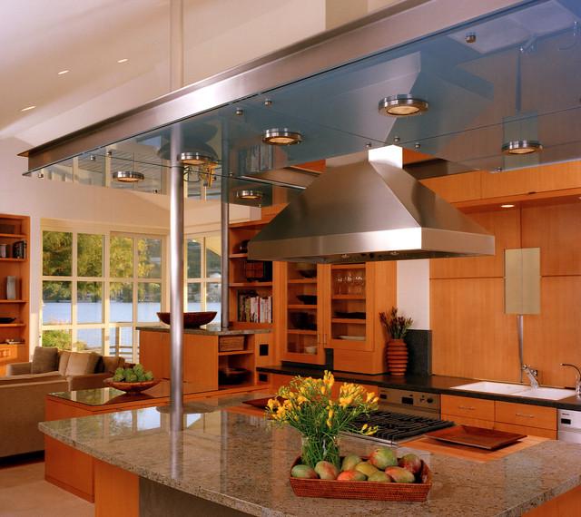 Modern Design for Dinning Space & Open Kitchen contemporary-kitchen