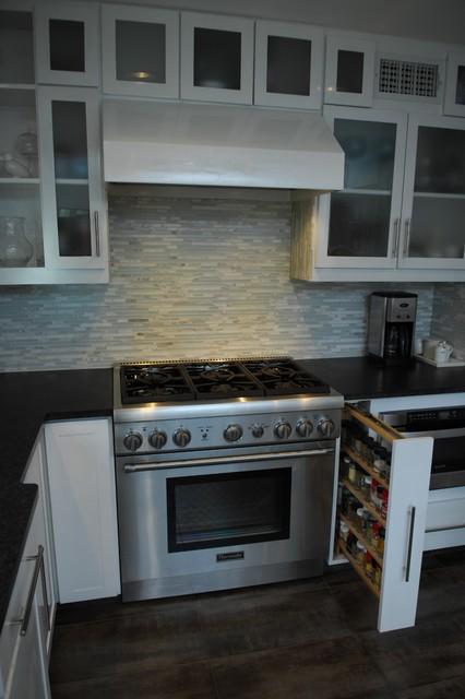 Modern Dove Kitchen contemporary-kitchen