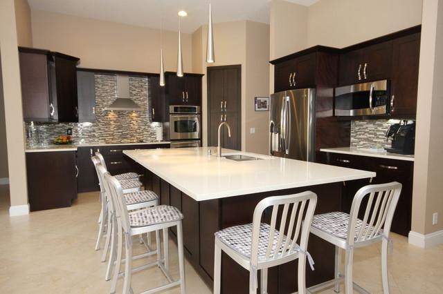Modern Espresso Kitchen modern-kitchen