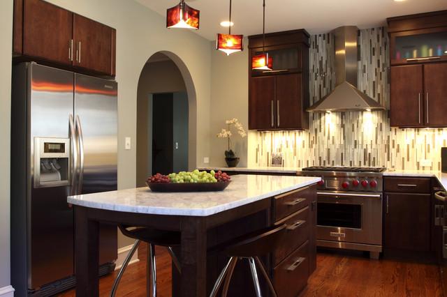 Modern evanston kitchen contemporary kitchen chicago for Bathroom remodel 10k