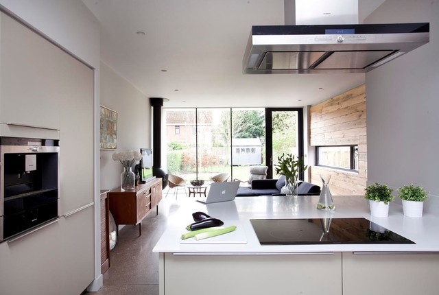 Modern extension to 1920s house for Modern 1920 s kitchen