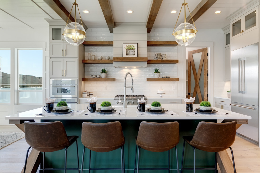The Newest Kitchen Trends for 2020 – Brighten it up!
