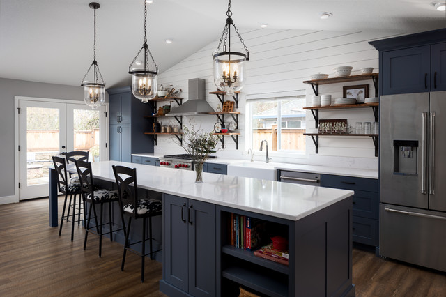 Kitchen Of The Week Modern Farmhouse Style Uncorked