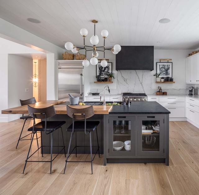 Contemporary Kitchen Remodel: Modern Farmhouse