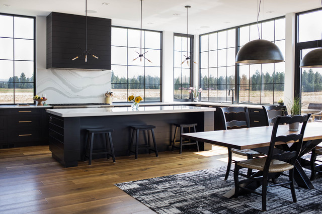 Modern Farmhouse Contemporary Kitchen Seattle By