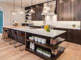A Kitchen Mixes Dark and Light for a Contemporary, Homey Feel (11 photos)