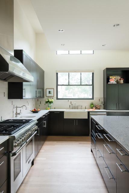 Modern Farmhouse In Dallas Texas Contemporary Kitchen