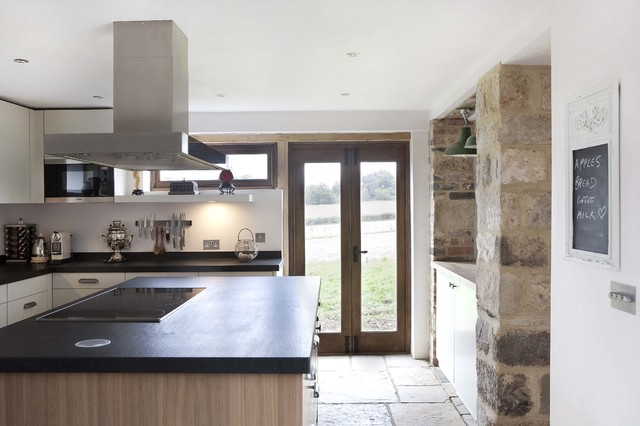 Modern Farmhouse Kitchen Farmhouse Kitchen london by Adrienne Chinn D