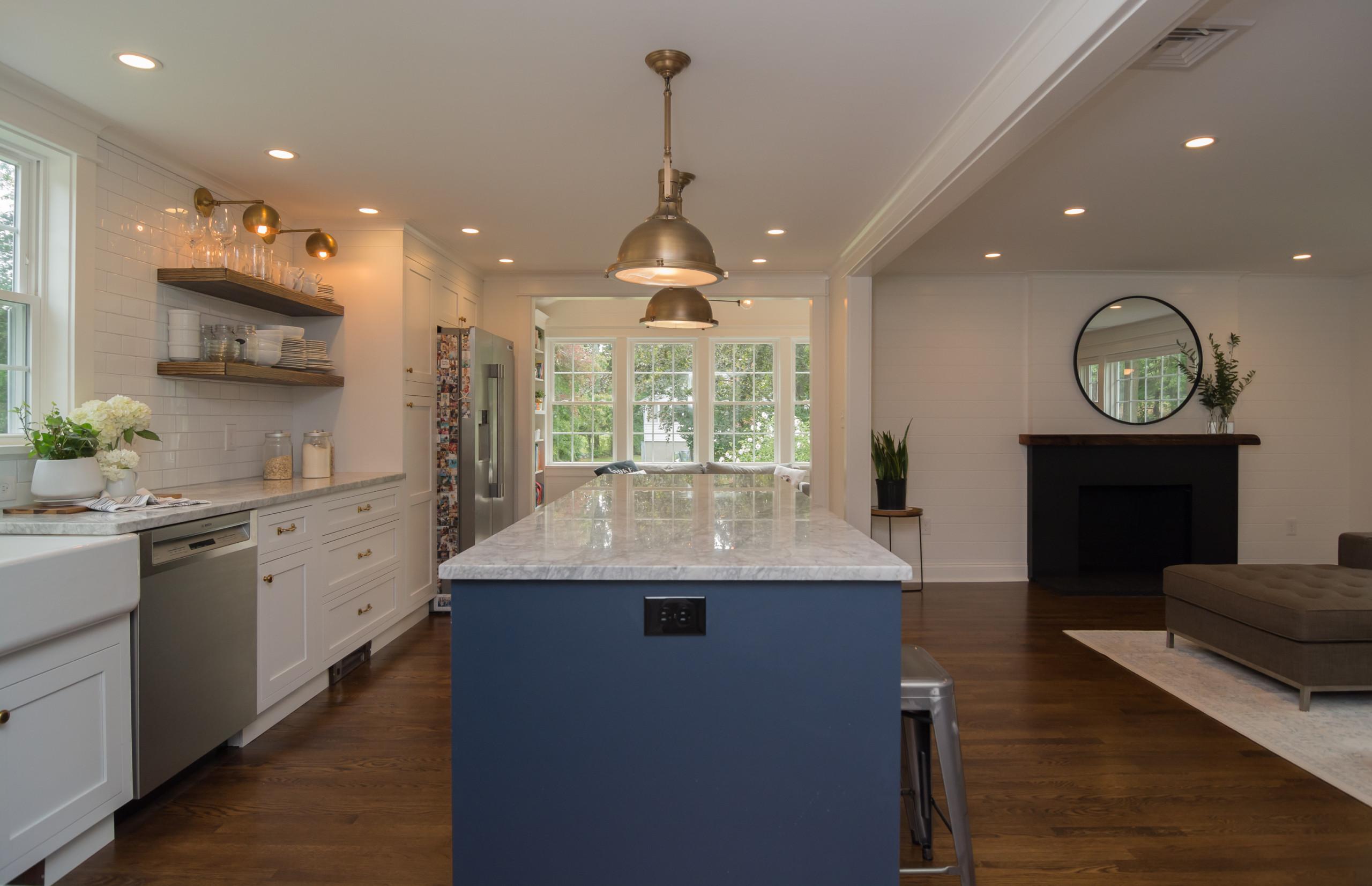 Modern Farmhouse kitchen.