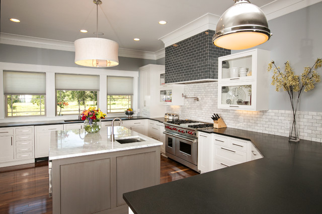 Modern Farmhouse Kitchen modern farmhouse kitchen - modern - kitchen - dallas -kitchen