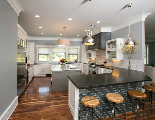 Modern farmhouse kitchen modern kitchen dallas by kitchen bath cottage Modern kitchen design ideas houzz