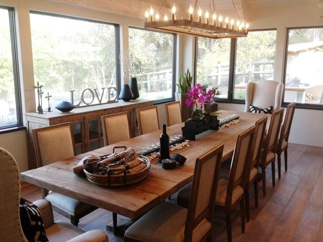Inspiration for a cottage kitchen remodel in Santa Barbara