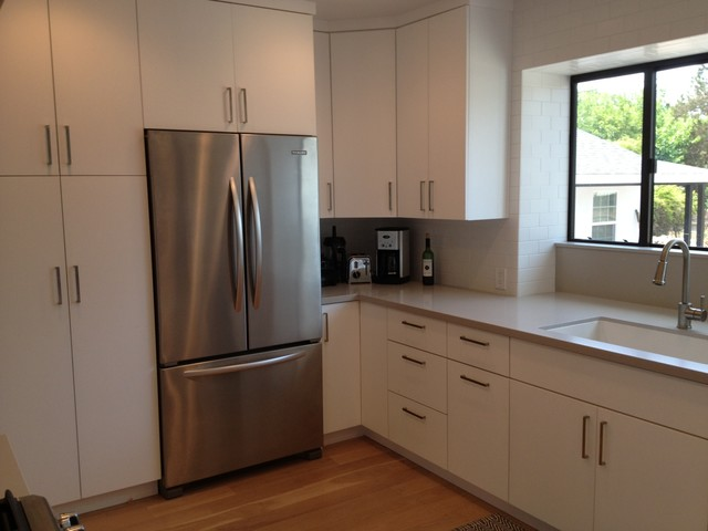 Modern Flat Panel Kitchen Los Angeles By