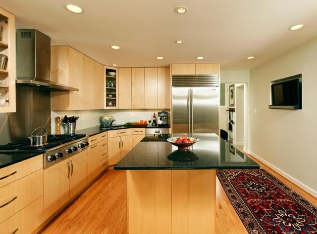 Modern flat panel kitchen modern-kitchen