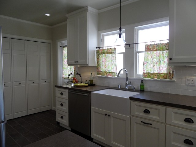 Modern French Chic Kitchen Reno From Conceptual To Completion Traditional