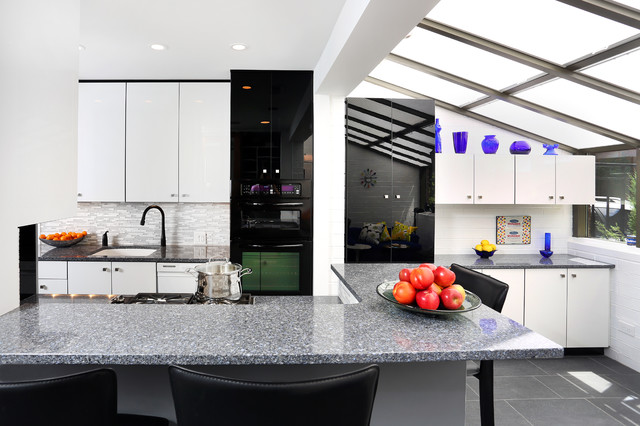 Modern Galley Kitchen Design modern galley kitchen design - contemporary - kitchen - chicago