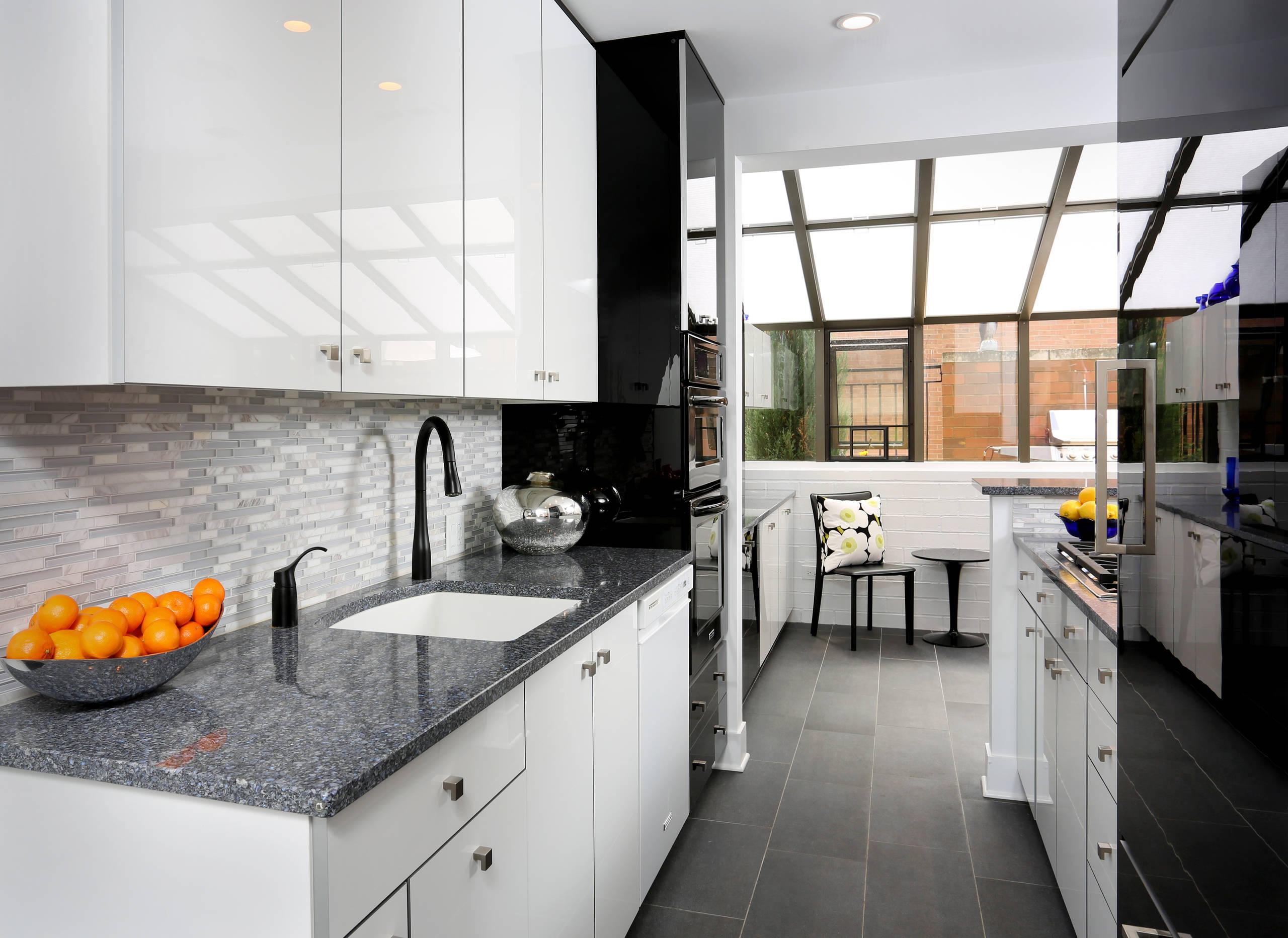 Grey Contemporary Kitchen Photos Houzz
