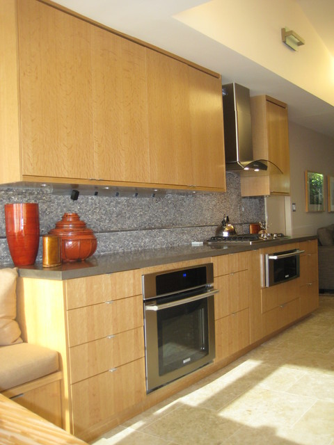 Modern galley kitchen update modern kitchen san for Updated galley kitchen photos
