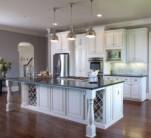 Modern gourmet kitchen traditional kitchen other for Gourmet kitchen designs