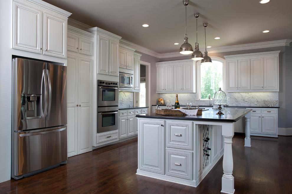 Modern Gourmet Kitchen - Traditional - Kitchen - Atlanta ...