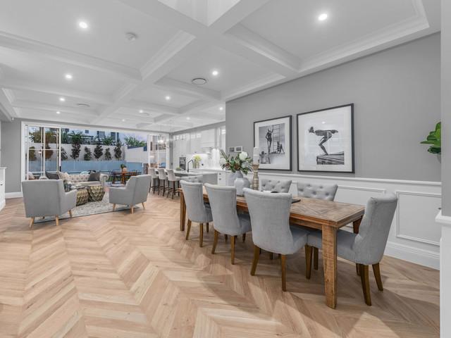 Modern Hamptons Style - Contemporary - Kitchen - Brisbane ...