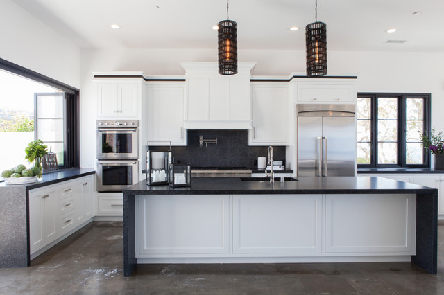 Modern Haven transitional-kitchen