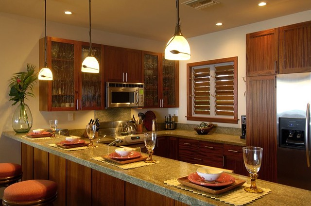 Modern Hawaii Beach Cottage Traditional Kitchen Hawaii By Fine Design Interiors Inc