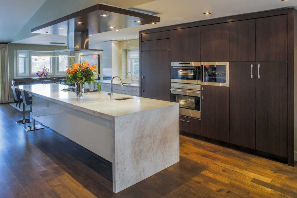 Modern High Gloss Cabinets Contemporary Kitchen Calgary By Denca Distributors