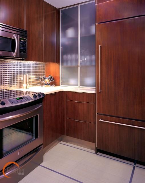 Modern Highrise Kitchen modern-kitchen