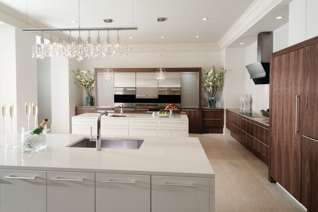 Modern History by Wood-Mode - Contemporary - Kitchen ...