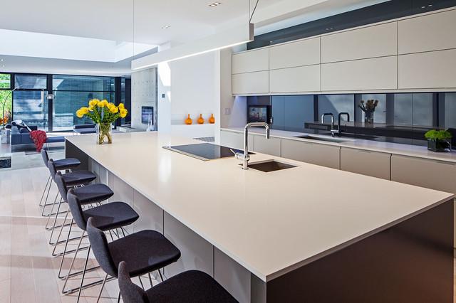 Modern Home In Oakville Ontario Scandinavian Kitchen Toronto By Peter A Sellar