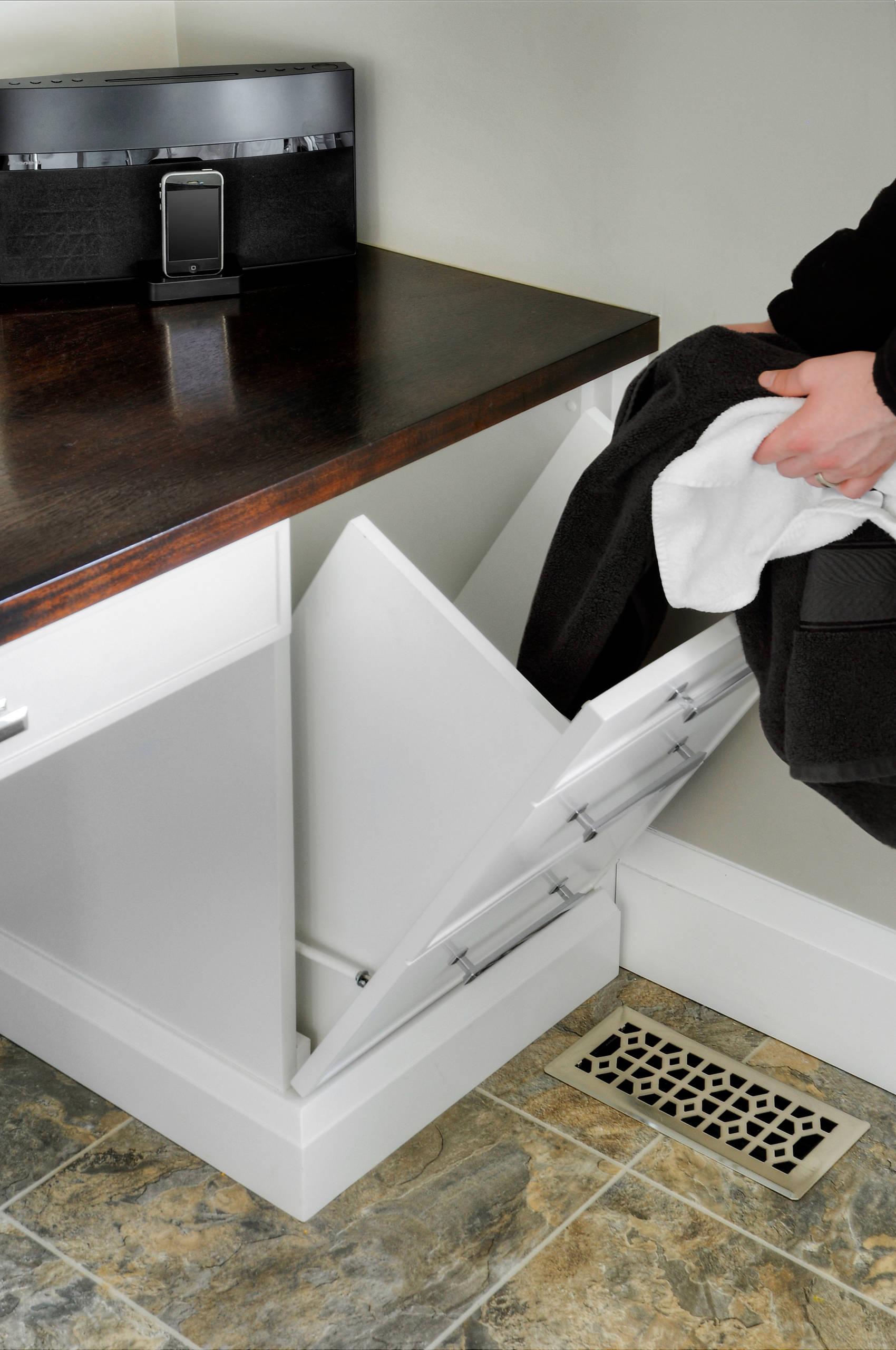 Cabinet Laundry Chute Houzz