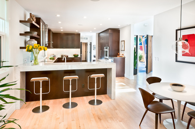 modern kitchen by Kimberly Demmy Design