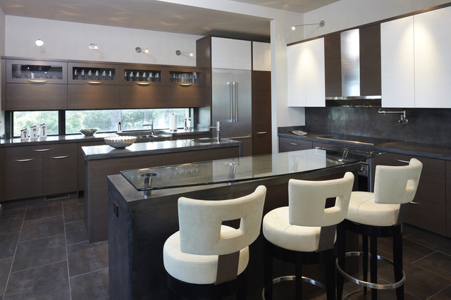 Modern House modern-kitchen