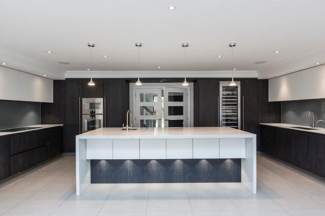 Modern House Weybridge Surrey Contemporary Kitchen