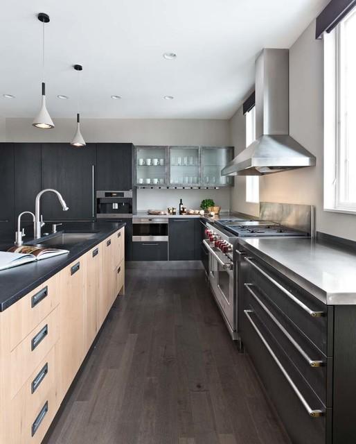 Modern Industrial Kitchens: Modern Industrial Kitchen And Bath