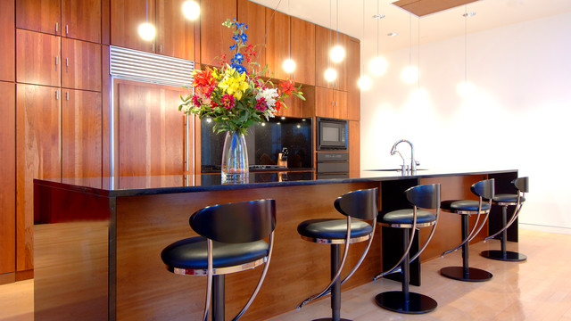 Modern Interior Penthouse - Modern - Kitchen - indianapolis - by HAUS | Architecture For Modern ...