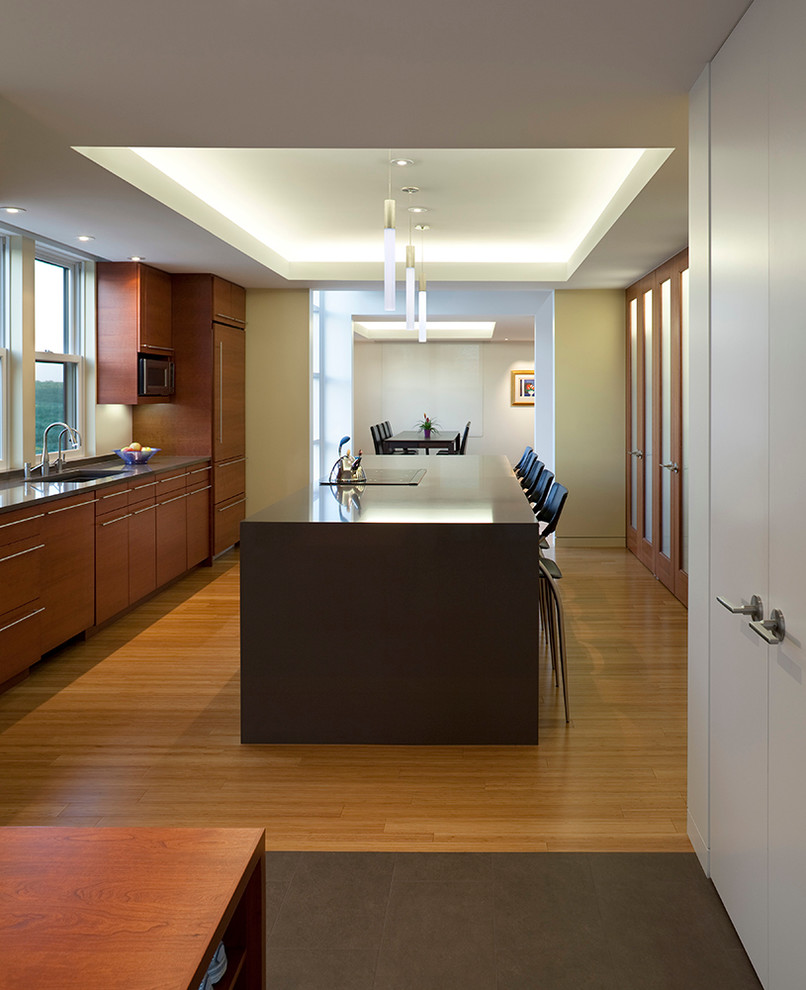 Modern Iowa Farmhouse - Contemporary - Kitchen - Cedar ...