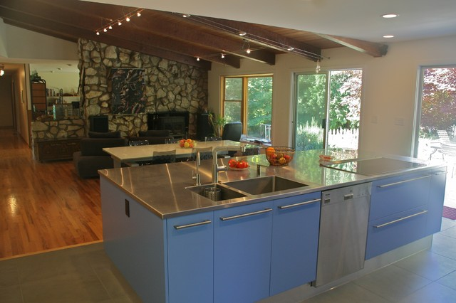 Modern italian style kitchen modern kitchen portland for D italian kitchen